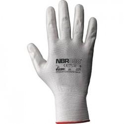 Guanto in filo continuo 100% nylon/nitrile