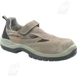 Sandalo protettivo in crosta bovina SRC